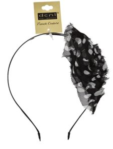 DCNL Polka Dot Flower Headband
