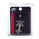 A product thumbnail of 14G Skull With Cross Navel Dangle