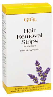 Lavender & Vanilla Hair Removal Strips for Face