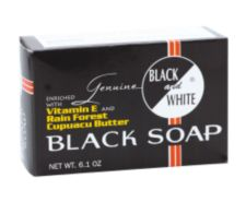 BLACK and WHITE Black Soap