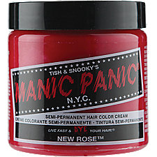 Manic Panic Semi-Permanent Color Cream New Rose