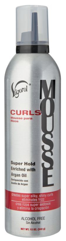 Vigorol Super Hold Argan Oil Curling Mousse