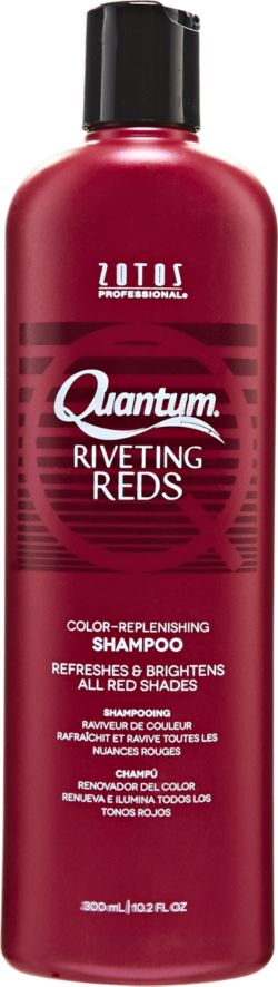 ... sally beauty quantum riveting reds color replenishing shampoo quantum