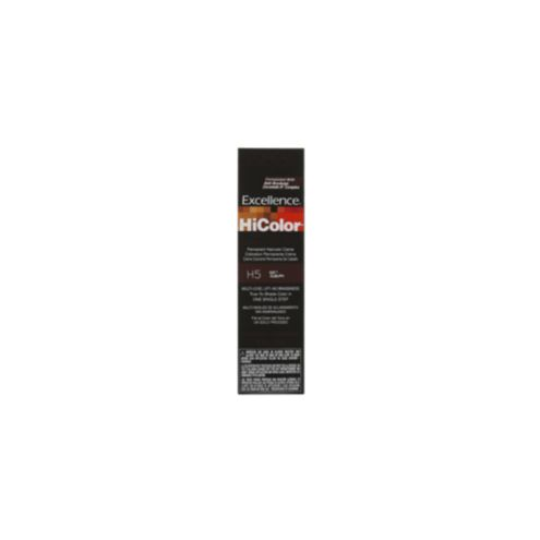 Loreal Excellence Hicolor Soft Auburn  Dark Brown Hairs