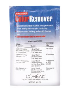 Loreal Hair Color Remover on Oreal   L Oreal Technique   L Oreal Effasol Color Remover