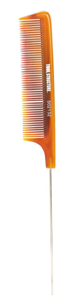 A product thumbnail of Tool Structure Tortoise Stainless Tail Comb