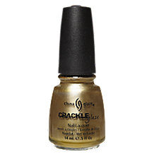 A product thumbnail of China Glaze Metallic Crackle Nail Enamel Tarnished Gold