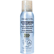 Streaks N Tips Temporary Color Highlight Spray Multi Glitter