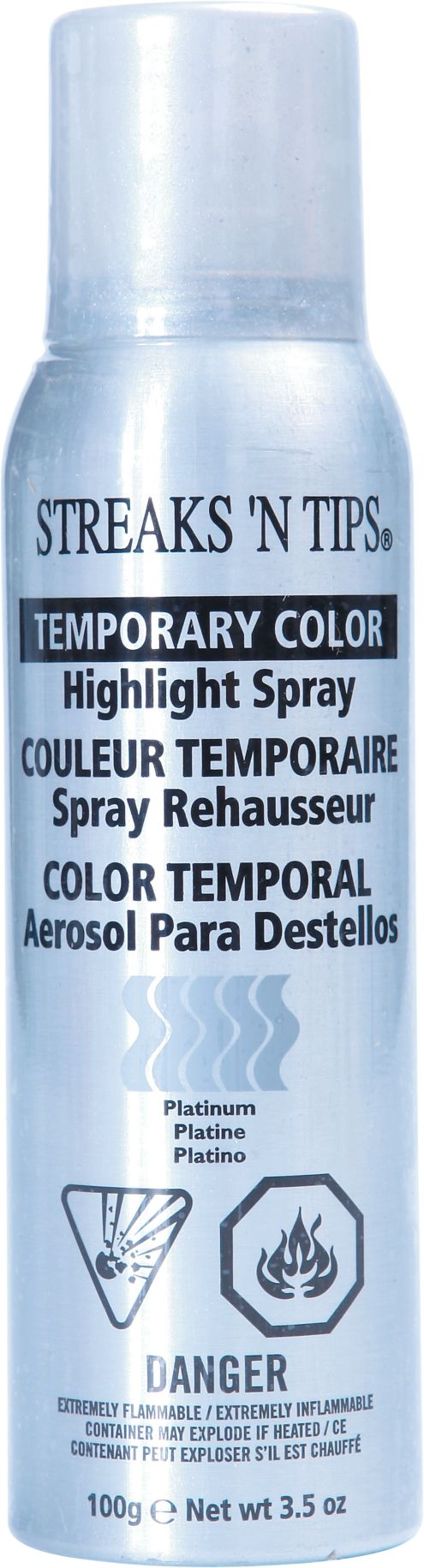 streaks n tips temporary color highlight spray