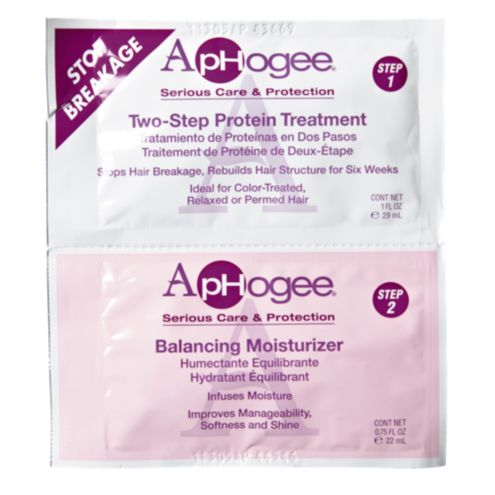 aphogee 2 step treatment and balanced moisturizer at sally