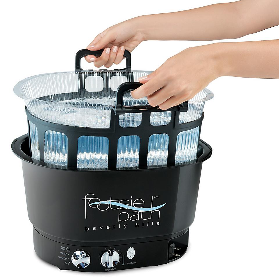 Vista en miniatura del producto Footsie Bath con cesta de alambre y