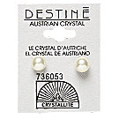 A product thumbnail of Destine White Pearl Earrings
