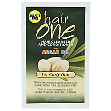 A product thumbnail of Hair One Argan Oil Hair Cleanser Conditioner For Curly Hair