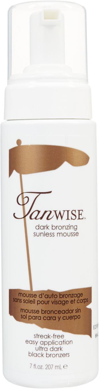 Tanwise Dark Bronzing Sunless Mousse