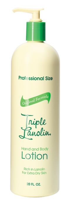 Triple Lanolin Hand & Body Lotion 20 oz.