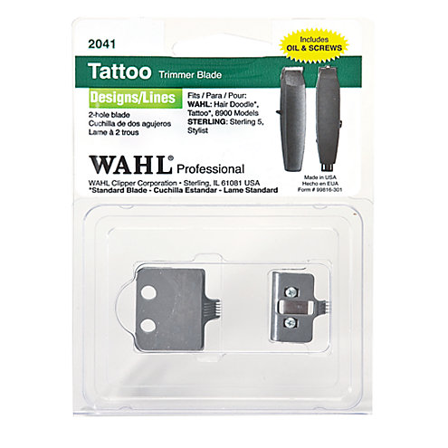 wahl tattoo trimmer replacement blade. Black Bedroom Furniture Sets. Home Design Ideas
