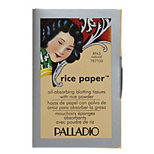 A product thumbnail of Palladio Rice Paper Blotting Tissues Natural