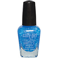 A product thumbnail of Sally Girl Mini Nail Polish Blue Glitter Dare U