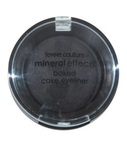 Femme Couture Mineral Effects Baked Cake Eyeliner Black