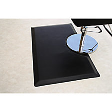 A product thumbnail of Ranco 3' x 5' Vegas Salon Black Mat - Rectangle