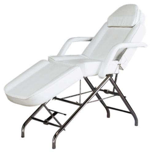 Dermatek adjustable facial chair white