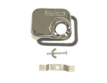 A product thumbnail of 1000C Plain Hose Receiver - Chrome