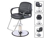 A product thumbnail of Leah Styling Chair With Chrome Base