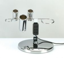 A product thumbnail of Kayline Electric Chrome Universal Appliance Holder