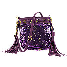 A product thumbnail of Silk Elements Sequin Tassel Bag