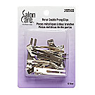 A product thumbnail of Salon Care Metal Double Prong Curl Clips