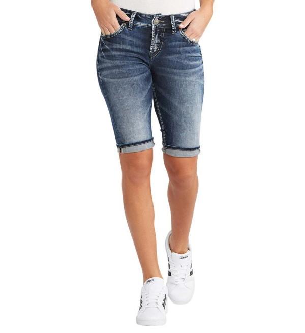 Women's Silver Jeans Suki Bermuda Short | Scheels