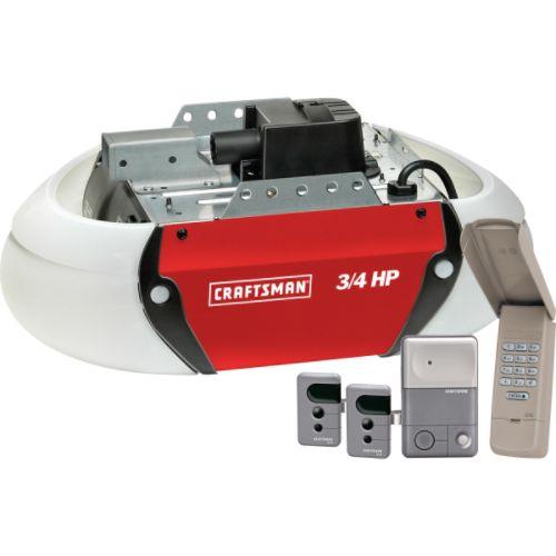 Craftsman 3 4 Hp Garage Door Opener Screw Drive 315 Mhz Ebay