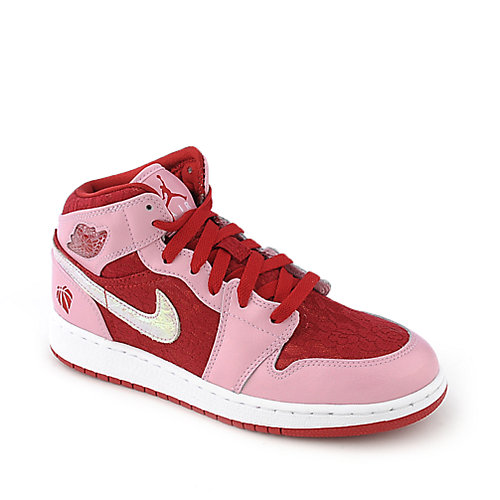Jordan Kids Girls Air Jordan 1 Mid Prem (GS)