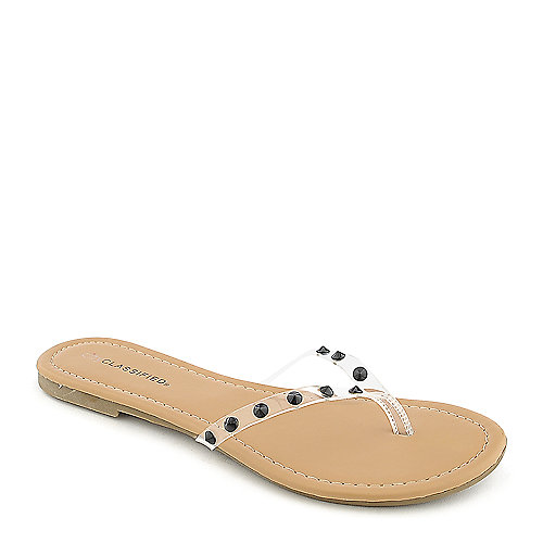 Classified Darlin-S Thong Sandals Black