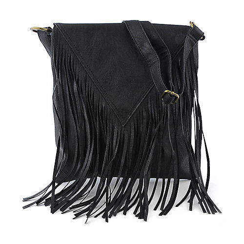 Elleven K Fringe Flap Bag