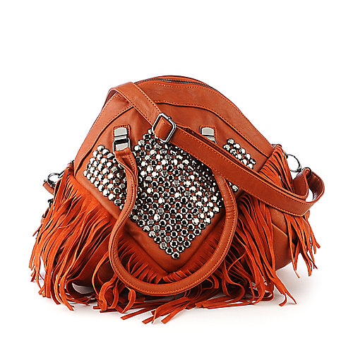 nuG Studded Fringe Bag