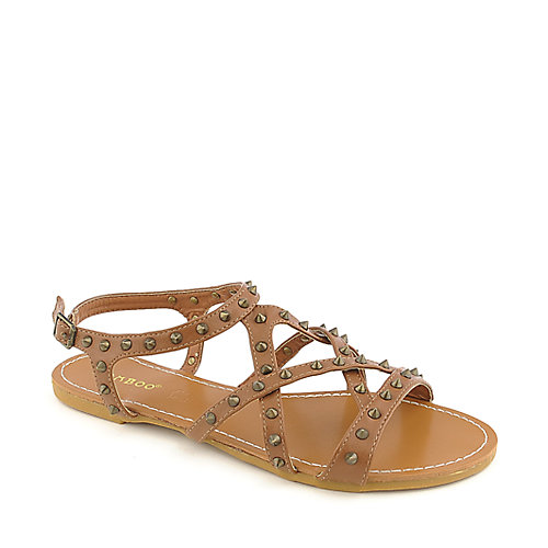 Bamboo Morris-61 Tan Slingback Sandals