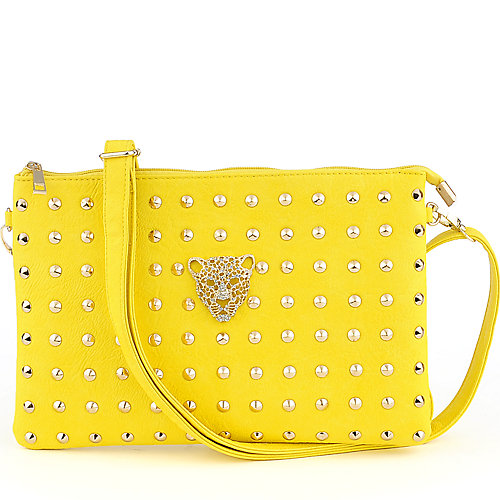 Yoki Studded Shoulder Bag