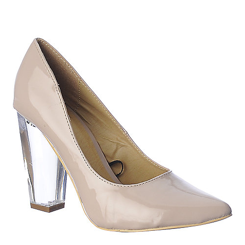 Shiekh Pump 105 High Heel Dress Shoe Natural