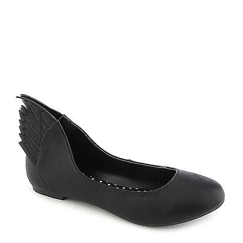 Misbehave Mazie-1 Black Flat Shoes