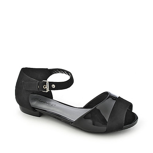 Breckelle's Becky-44 Black Flat Shoes