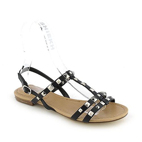 Breckelle's Ester-14 Black Slingback Sandals