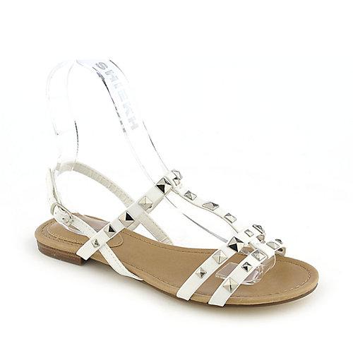 Breckelle's Ester-14  White Slingback Sandals