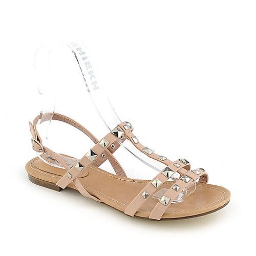 Breckelle's Ester-14  Pink Slingback Sandals