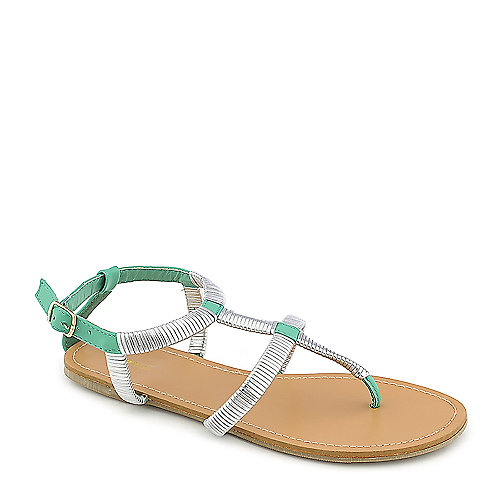 Promise Guide Turquoise Gladiator Sandals