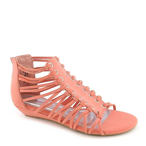 Bamboo Dalinda-34 Strappy Sandals Pink