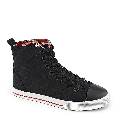 Levi's high top black sneaker for women at Shiekh Shoes