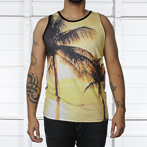 Shiekh Mens Sunset Tank