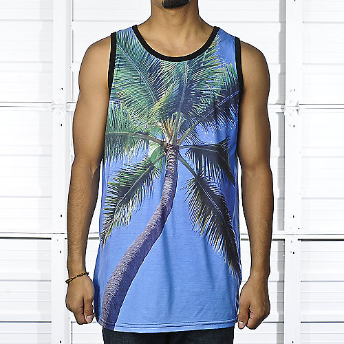 Shiekh Mens Palm Tree Tank