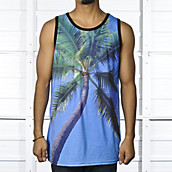 Mens Palm Tree Tank